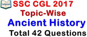 SSC CGL 2017 Question Paper