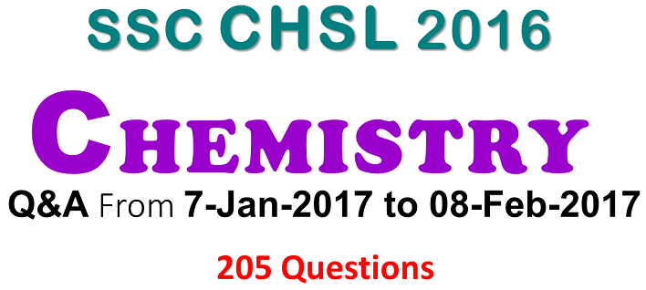 SSC CHSL Question Paper