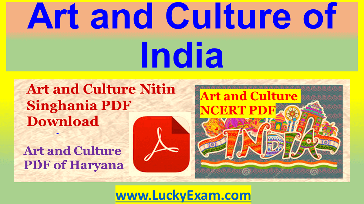 Art and Culture of India PDF Download