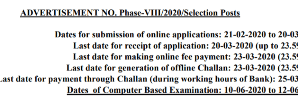 SSC-Selection-Post-VIII-2020-Recruitment-Online-Form-1000x343 Online Govt Job Form In Haryana on